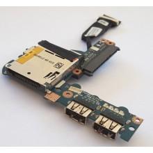 USB + S-ATA board + Čtečka karet LS-5143P z eMachines EM250