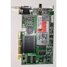 Grafická karta ATI All-in-Wonder Rage 128 Pro 32MB TV Tuner AGP LEGENDA