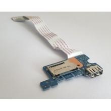 USB board + Čtečka karet LS-C705P / NBX0001U000 z HP 250 G4