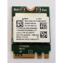 Wifi modul + Bluetooth RTL8723BE / 04X6025 z Lenovo G70-35