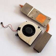 Chlazení + ventilátor DFS481305MC0T / 6033B0014602 z HP 620