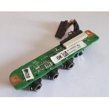 Audio board DA0AT5AB8D0 / 32AT5AB0002 z HP Pavilion dv9700 / dv9722eg