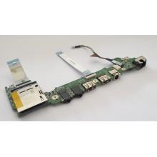 USB + DC + Audio + Čtečka karet DA0ZH6PC6D0 z Acer Ferrari One 200