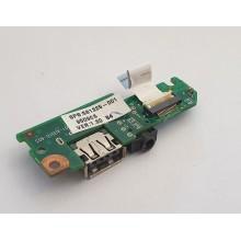 USB + Audio board 6050A2296801 / 581325-001 HP Compaq Mini 110c-1103SO