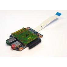 Čtečka karet + Audio board LS-5753P z Lenovo IdeaPad G560