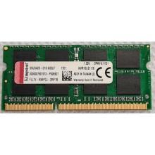 Paměť RAM do NB Kingston Value 8GB DDR3L 1600 CL11 SO-DIMM / KVR16lS11