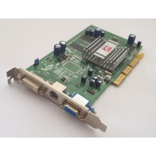 Grafická karta AGP SAPPHIRE ATI Radeon 9250 128MB V/D/VO