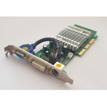 Grafická karta AGP Sparkle SP8834 Rev A2 GeForce FX5200 128MB