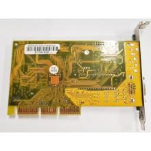 Grafická karta AGP Axle3D Riva TNT2 M64 32M GPU - Raritka !