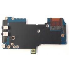 PCMCIA + Audio board + Čtečka karet LS-4903P z HP EliteBook 8440p