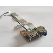 USB + Audio board 080Y9H / RC6F33020EH11 z Dell Latitude E5420