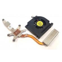 Chlazení 0DW914 + ventilátor DFS531305M30T z Dell Latitude E5400