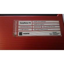Palmrest AP0IE000110 + touchpad z Packard Bell EasyNote TK87