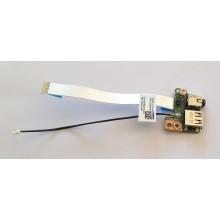 USB + Audio board 02NHKM / RC6F33020EH11 z Dell Latitude E5520