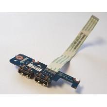 USB board LS-5821P / 455N5051L01 z Toshiba Satellite L455D-S5976
