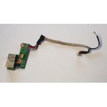 USB + DC board / Napájení DDAT8APB300 z HP Pavilion dv6500 / dv6670ec