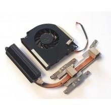 Chlazení 60.4Z426.002 + ventilátor UDQFLJR02CAR z Acer Extensa 5230